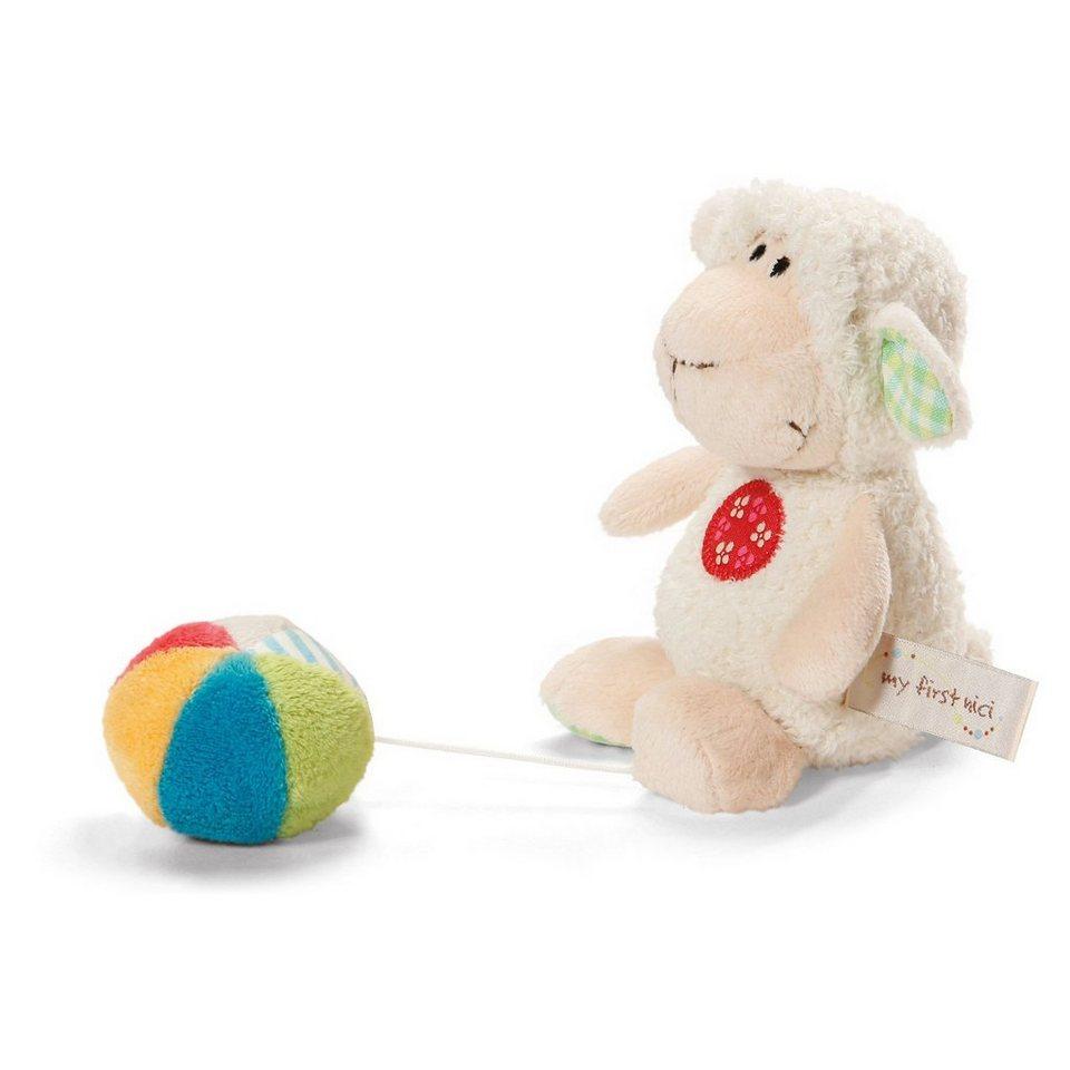 NICI My First 35928 Lamm Monny mit Ball