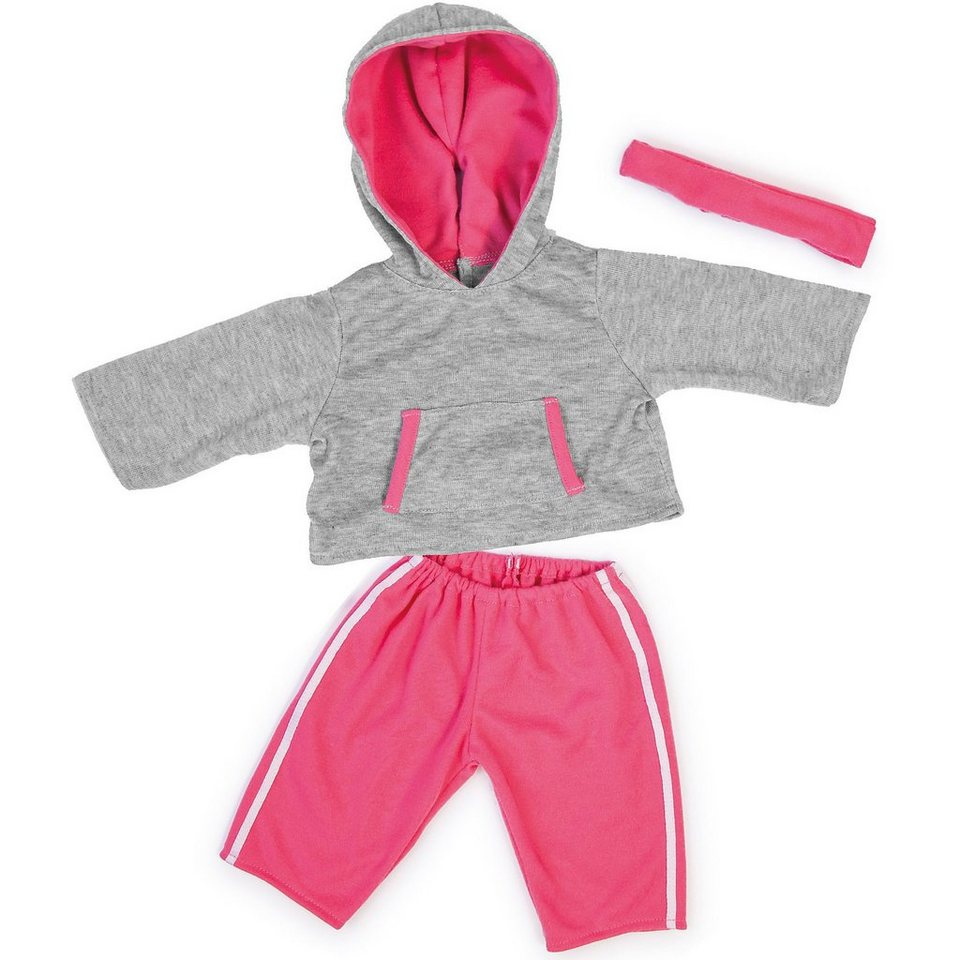 BAYER Puppenkleidung Deluxe Dress Sport 46 cm