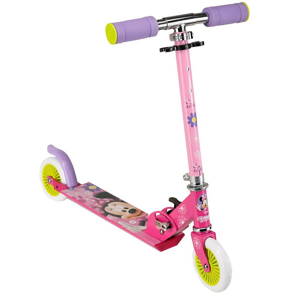 Stamp Minnie Mouse Scooter, klappbar in pink/rosa