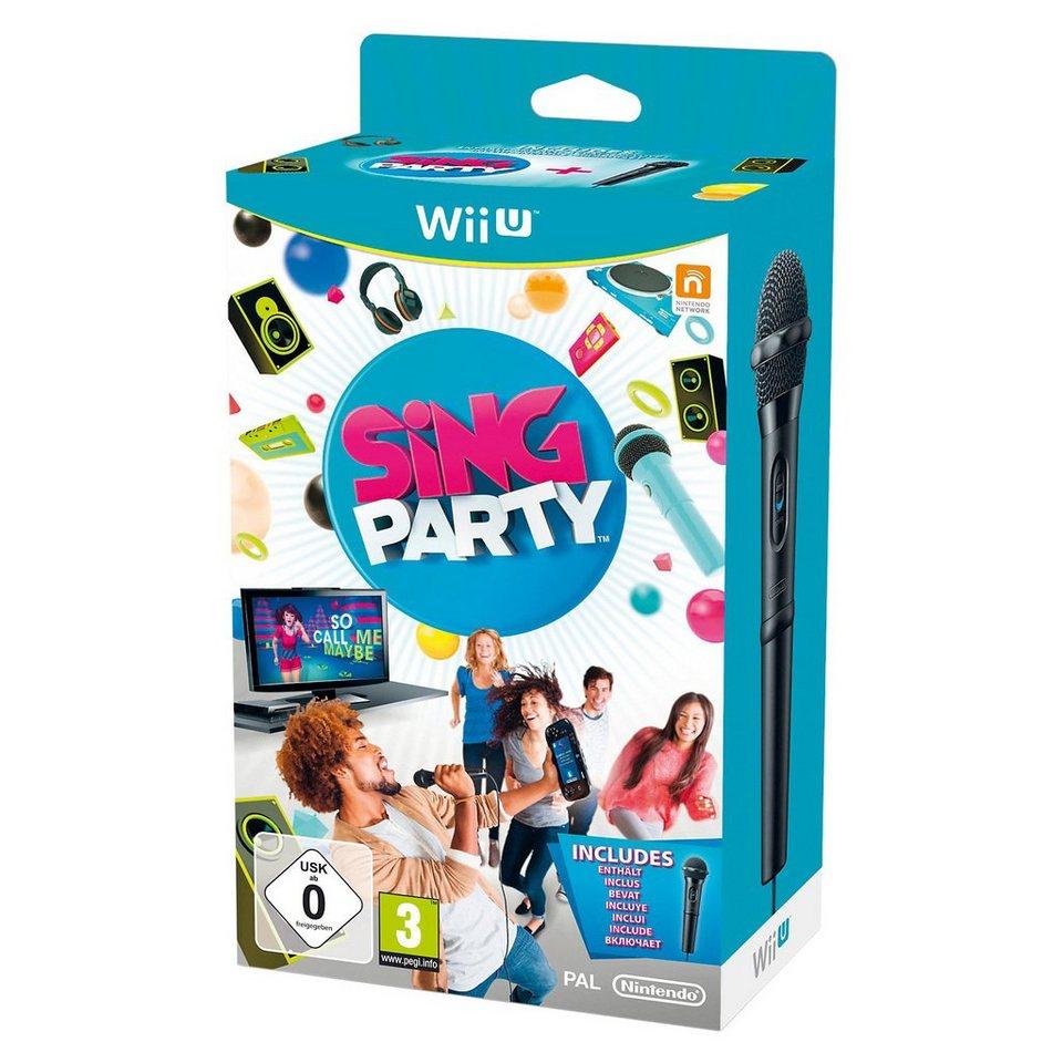 ak tronic Wii U Sing Party + Mikrofon
