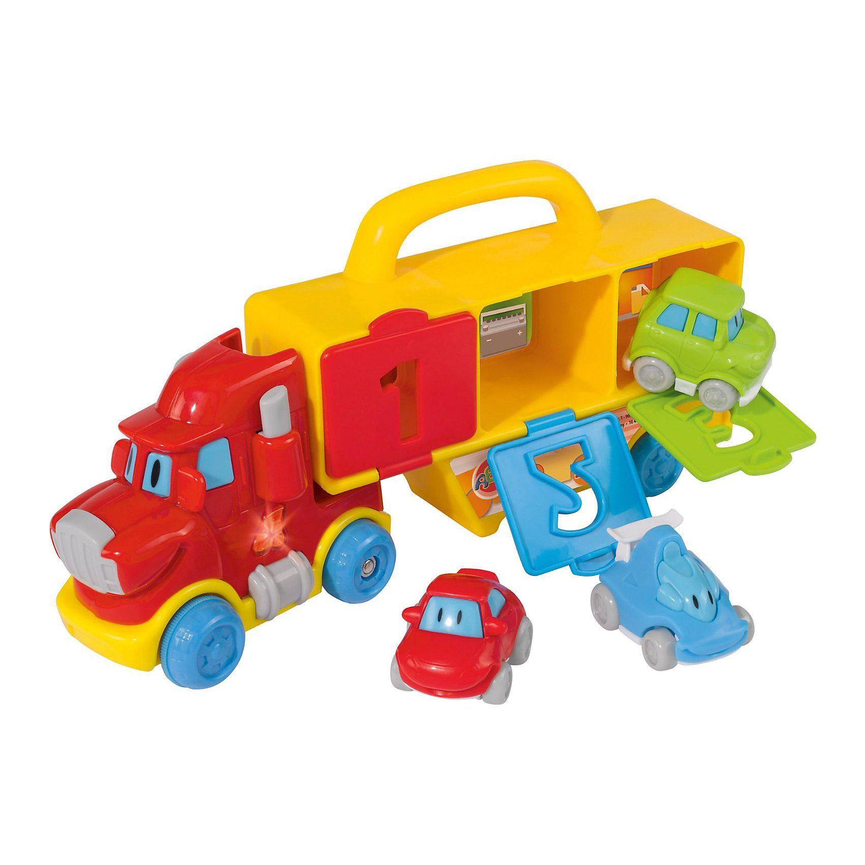 Simba ABC - Lern- und Spieltruck, 3 Autos