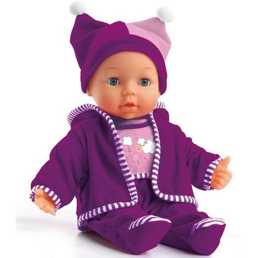 myToys Babypuppe Mara violett, 38 cm