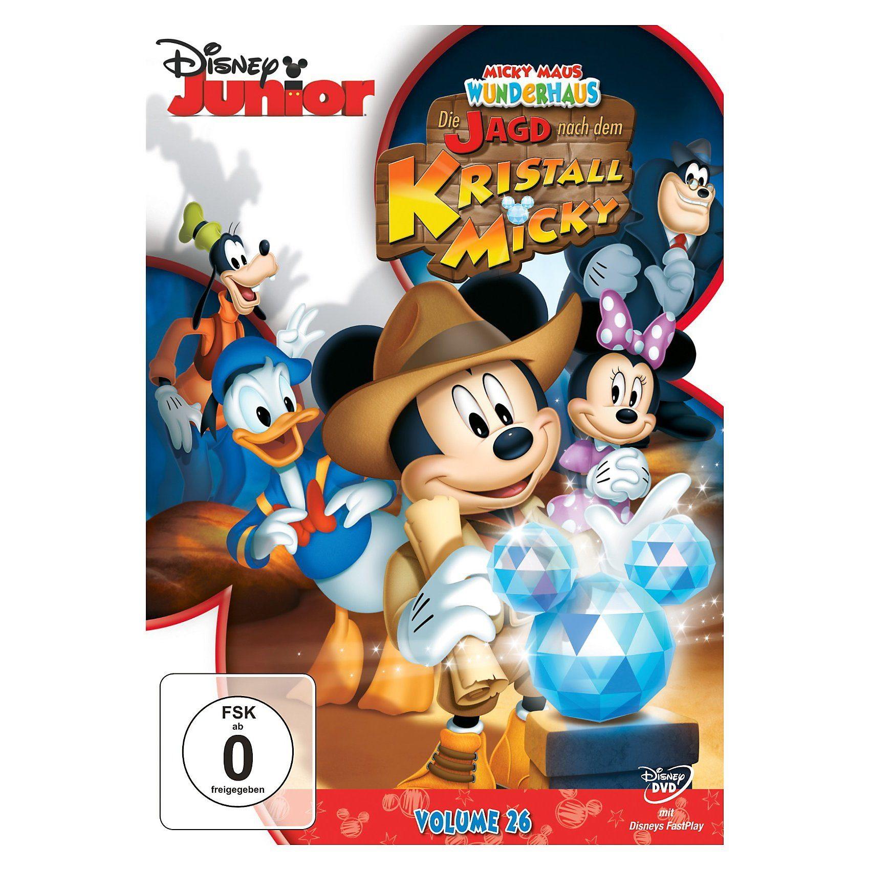 Disney DVD Micky Maus Wunderhaus - Die Jagd nach dem Kristall-Micky