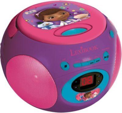 Lexibook® Doc McStuffin CD-Player mit Radio