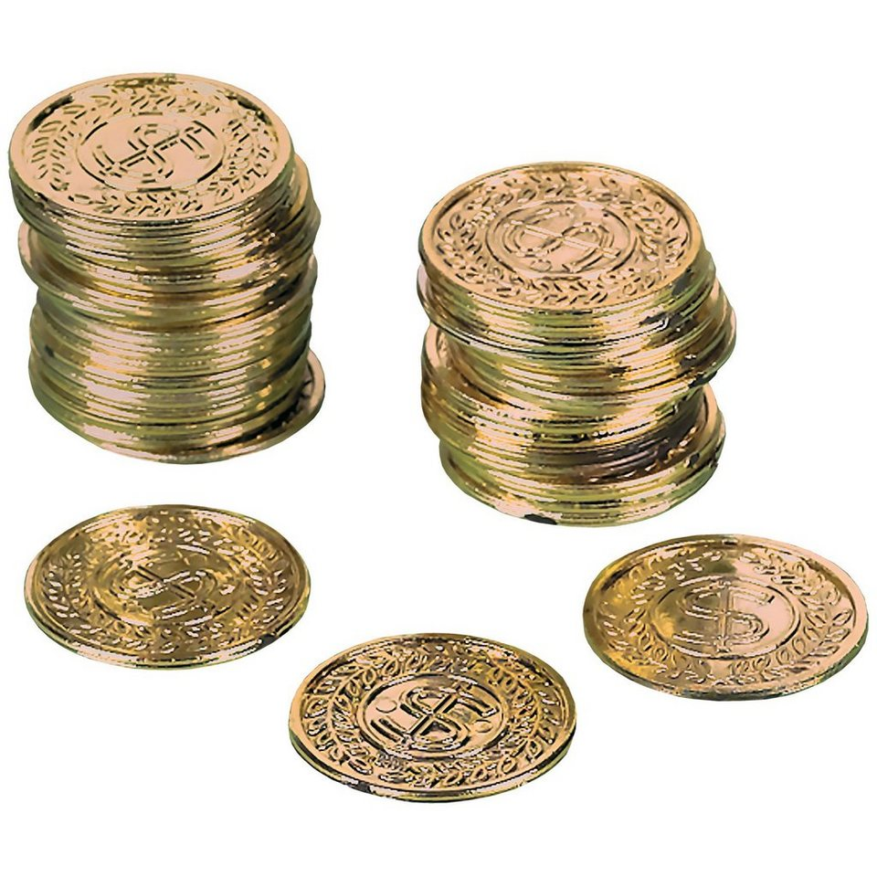 Amscan Goldmünzen, 72-tlg.