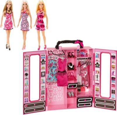 barbie modekoffer