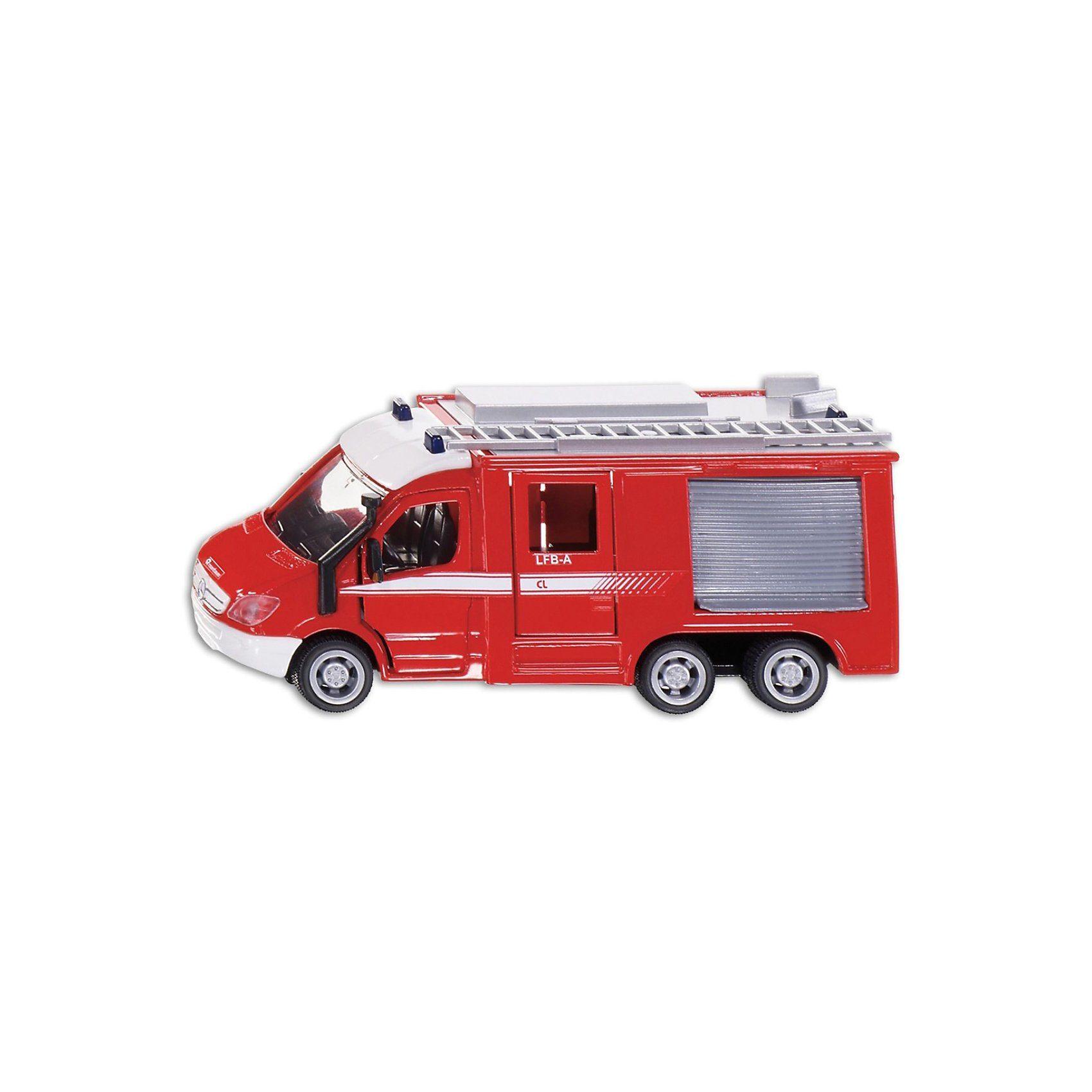 Siku Super 2113 Mercedes Benz Feuerwehr Sprinter 6 x 6 1:50