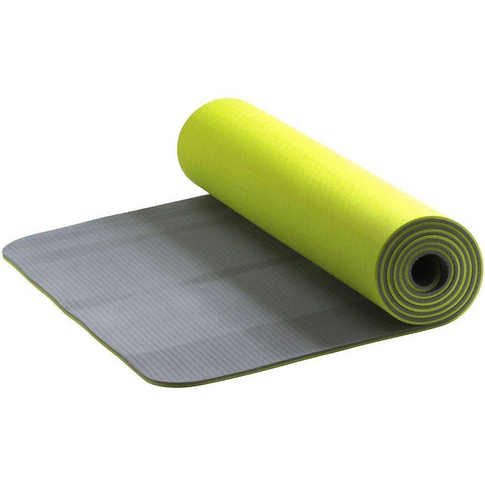 Energetics Yogamatte Adiva in gelb