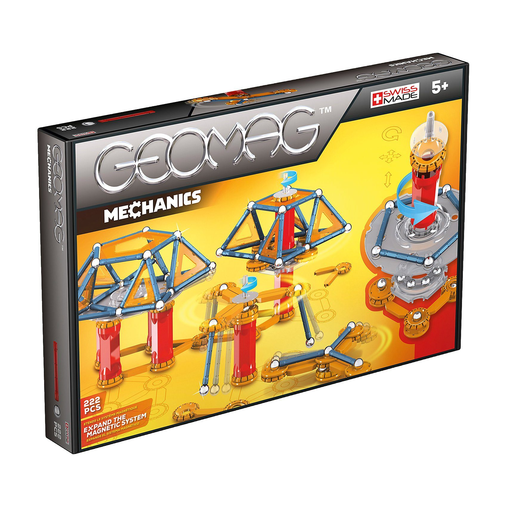 Geomag Mechanics, 222-tlg.