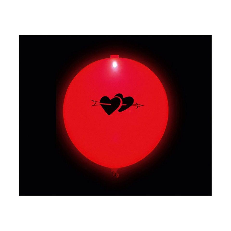 "LED Luftballons ""I Love You"""