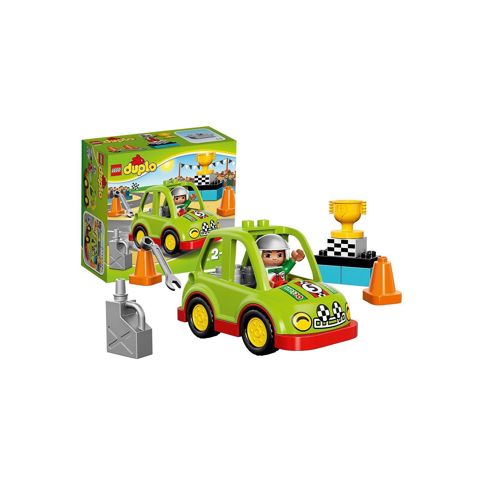 LEGO 10589 DUPLO: Rennwagen