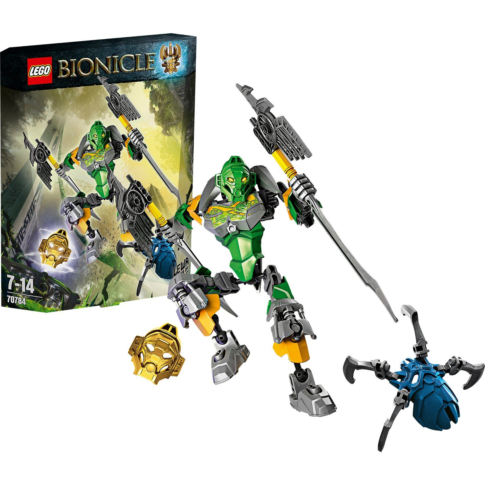 LEGO 70784 Bionicle: Lewa – Meister des Dschungels