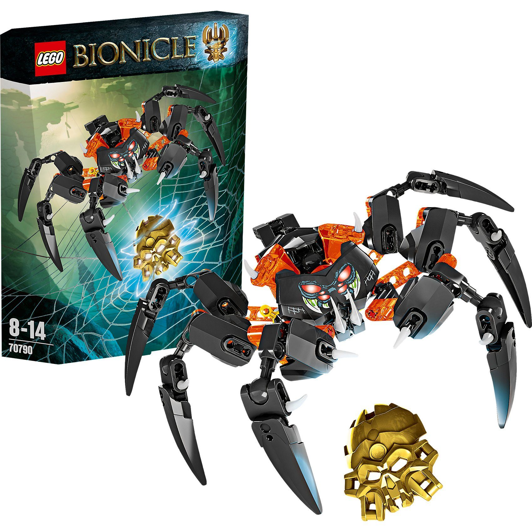 LEGO 70790 Bionicle: Herr der Totenkopfspinnen