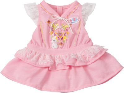 Zapf Creation BABY born® Puppenkleidung Kleid rosa, 43 cm