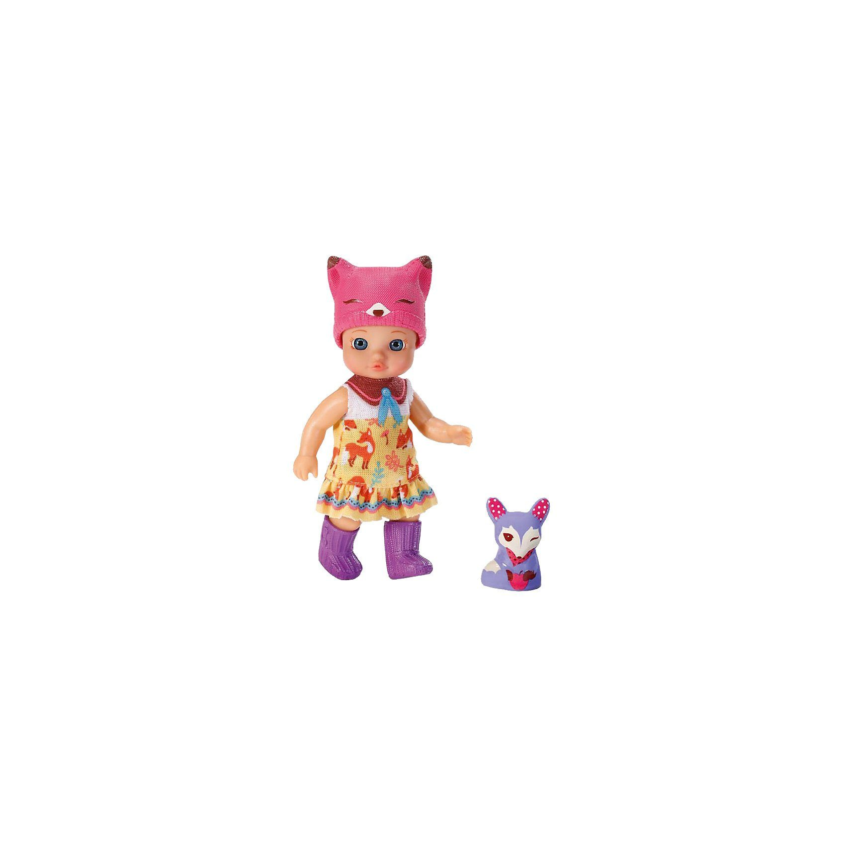 Zapf Creation mini CHOU CHOU Minipuppe Foxes Judy, 12 cm