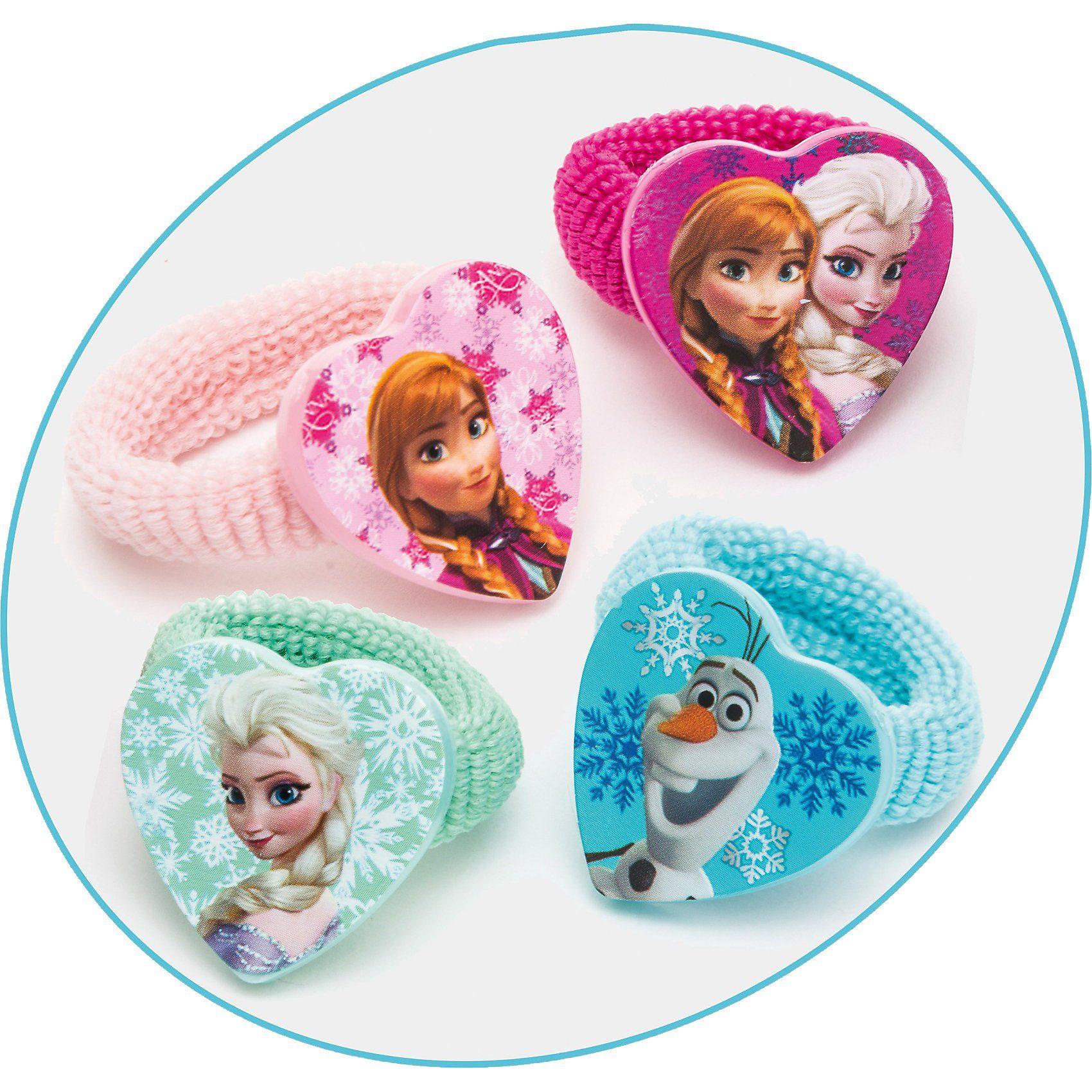 JOY TOY Zöpfchenhalter Disney Princess Frozen, 4 Motive