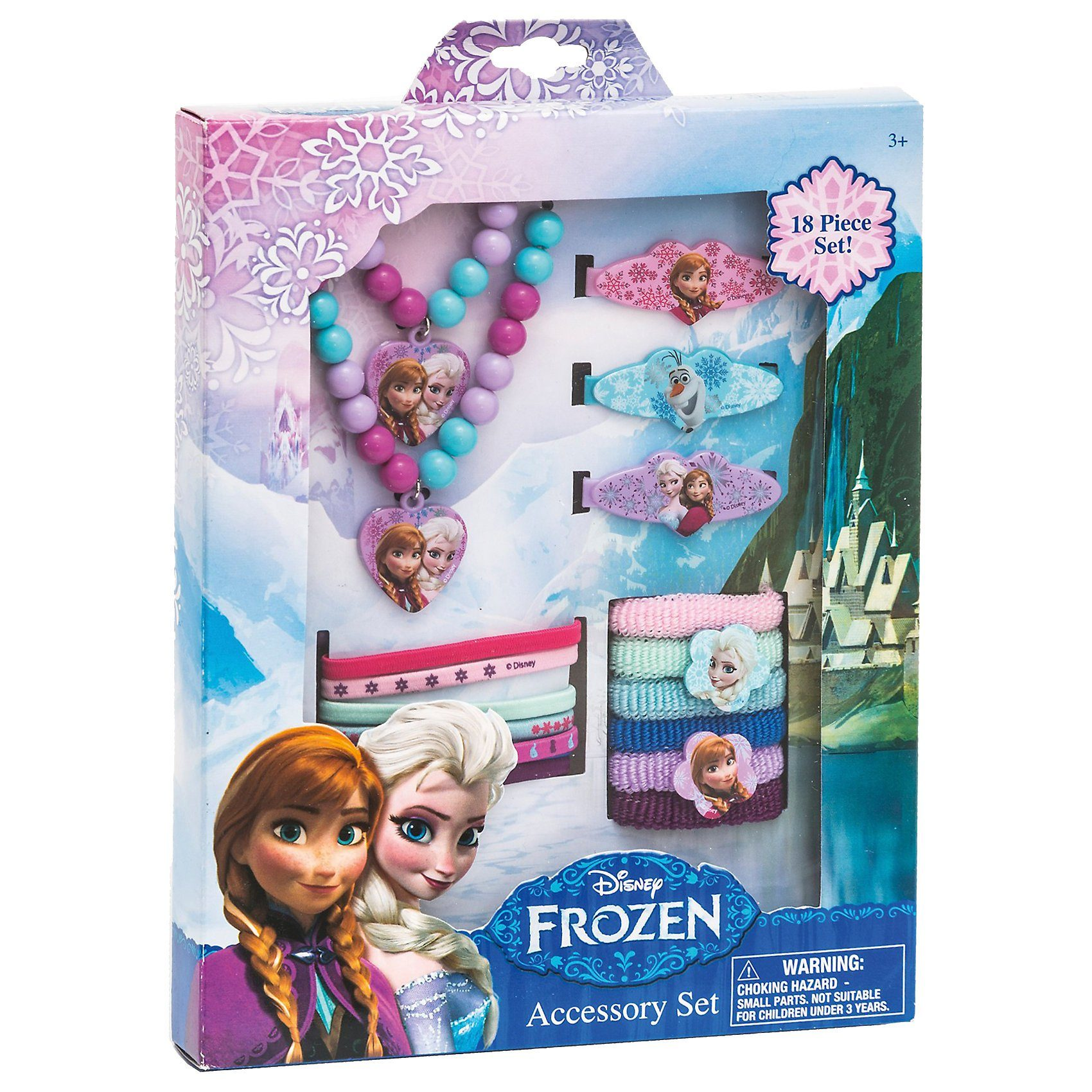 JOY TOY Accessoires-Set Disney Princess Frozen, 18-tlg.