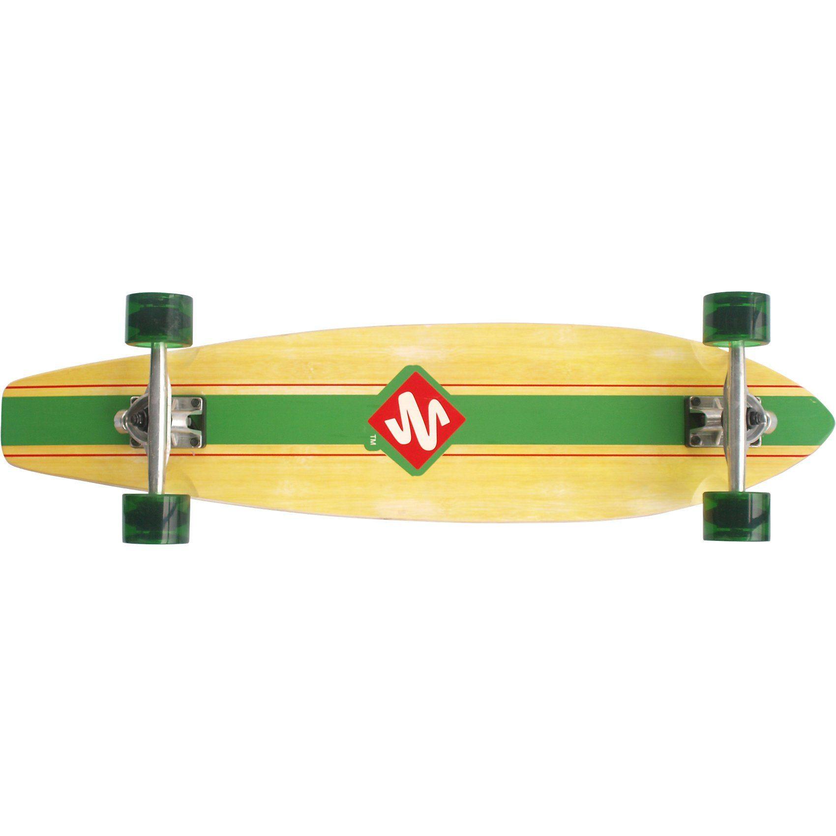 "Streetsurfing Longboard Kicktail 36"" - Infinity, grün"