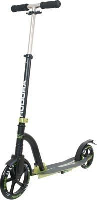 Hudora Scooter Big Wheel Bold Cushion, grün/schwarz in anthrazit