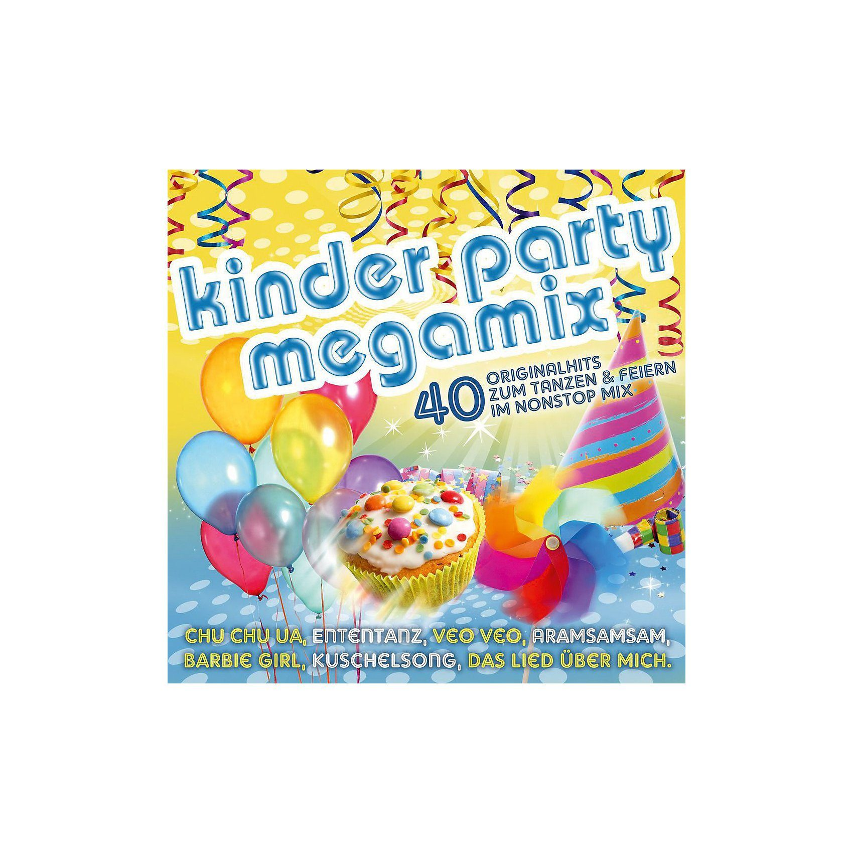 Universal CD Kinderparty Megamix 40