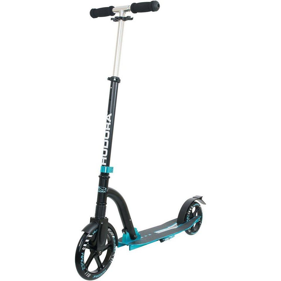 Hudora Scooter Big Wheel Bold Cushion, hellblau in anthrazit