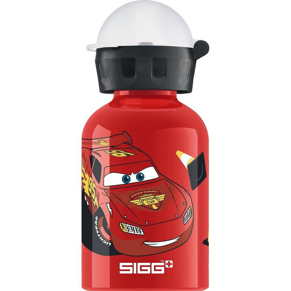 SIGG Alu-Trinkflasche Disney Cars, 300 ml in rot