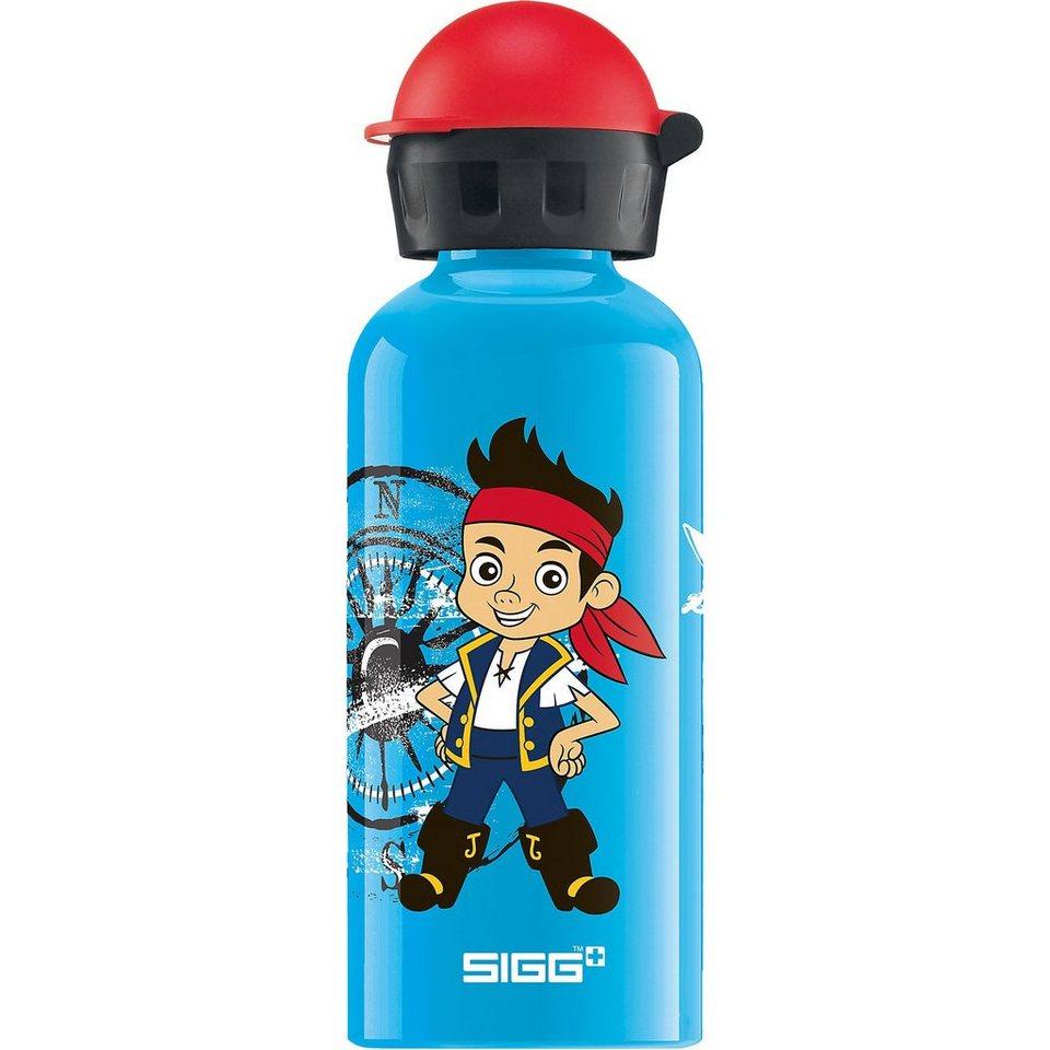SIGG Alu-Trinkflasche Jake und die Nimmerland Piraten, 400 ml in blau