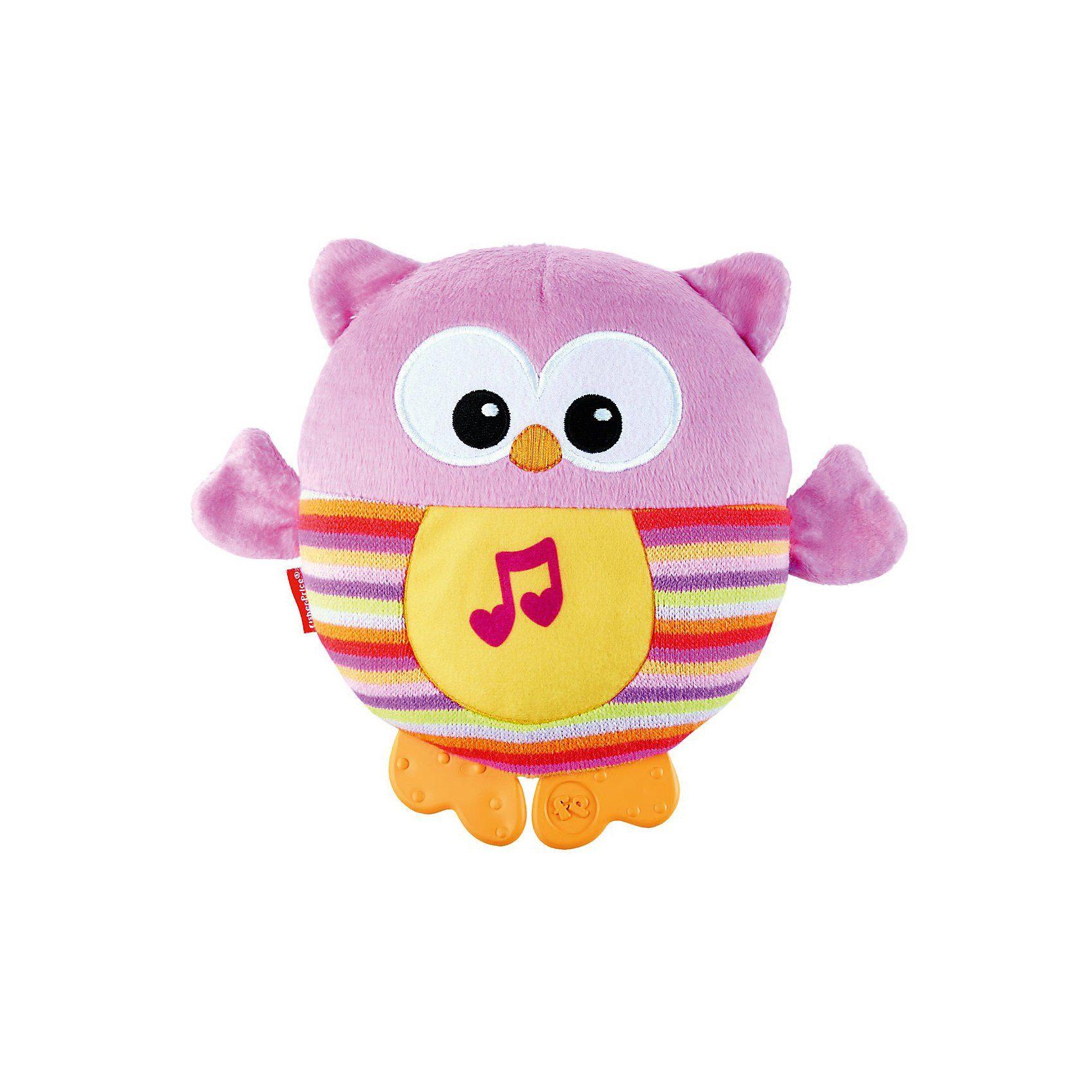 Mattel® Leuchtende Kuschel-Eule, pink