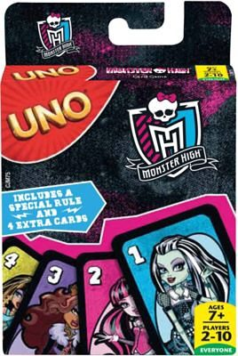 Mattel UNO Monster High