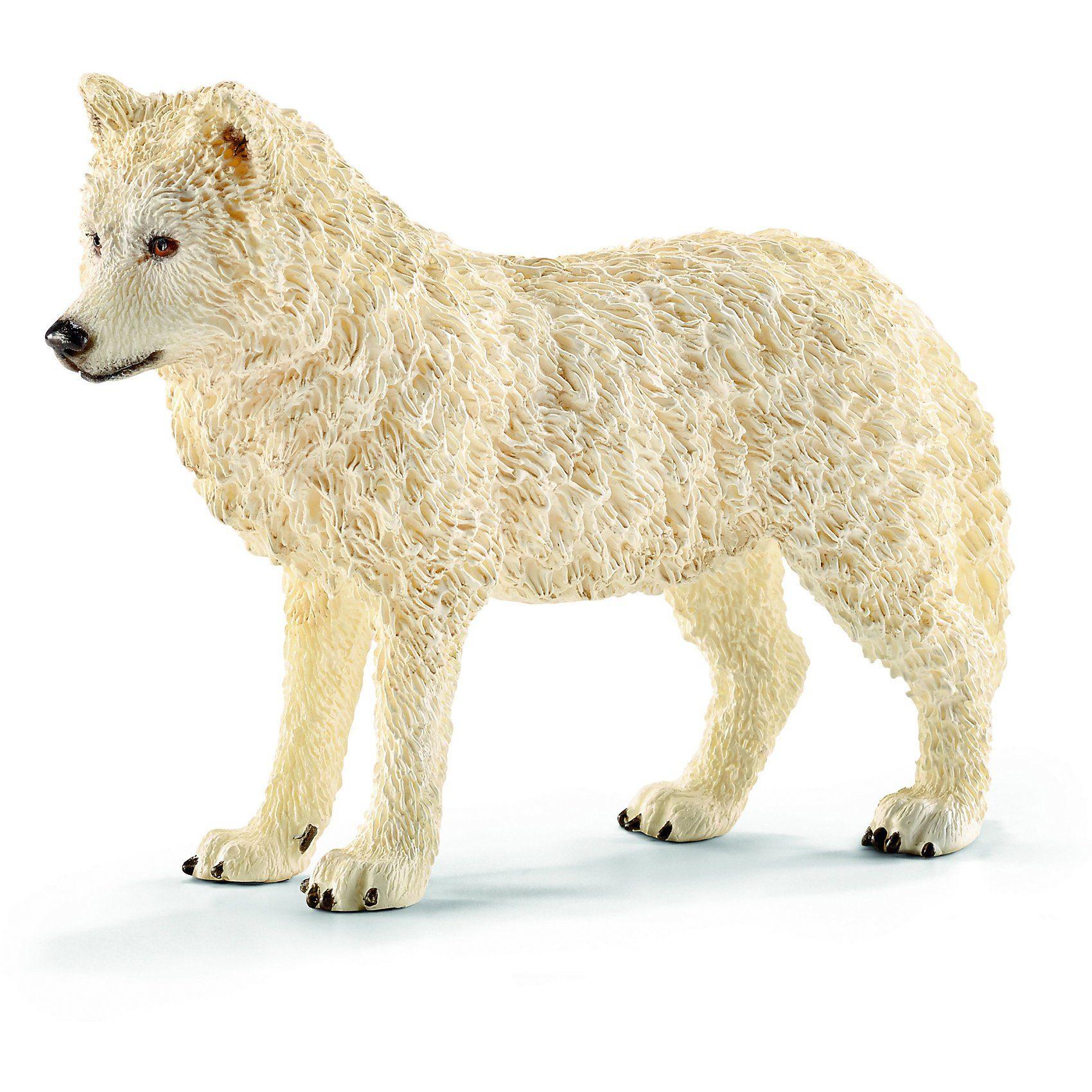 Schleich 14742 Wild Life: Arktischer Wolf