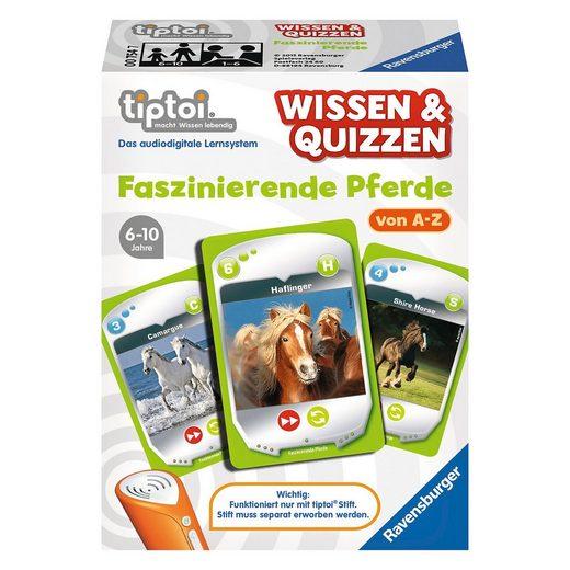 Ravensburger tiptoi® Wissen & Quizzen: Faszinierende Pferde (ohne Stift)