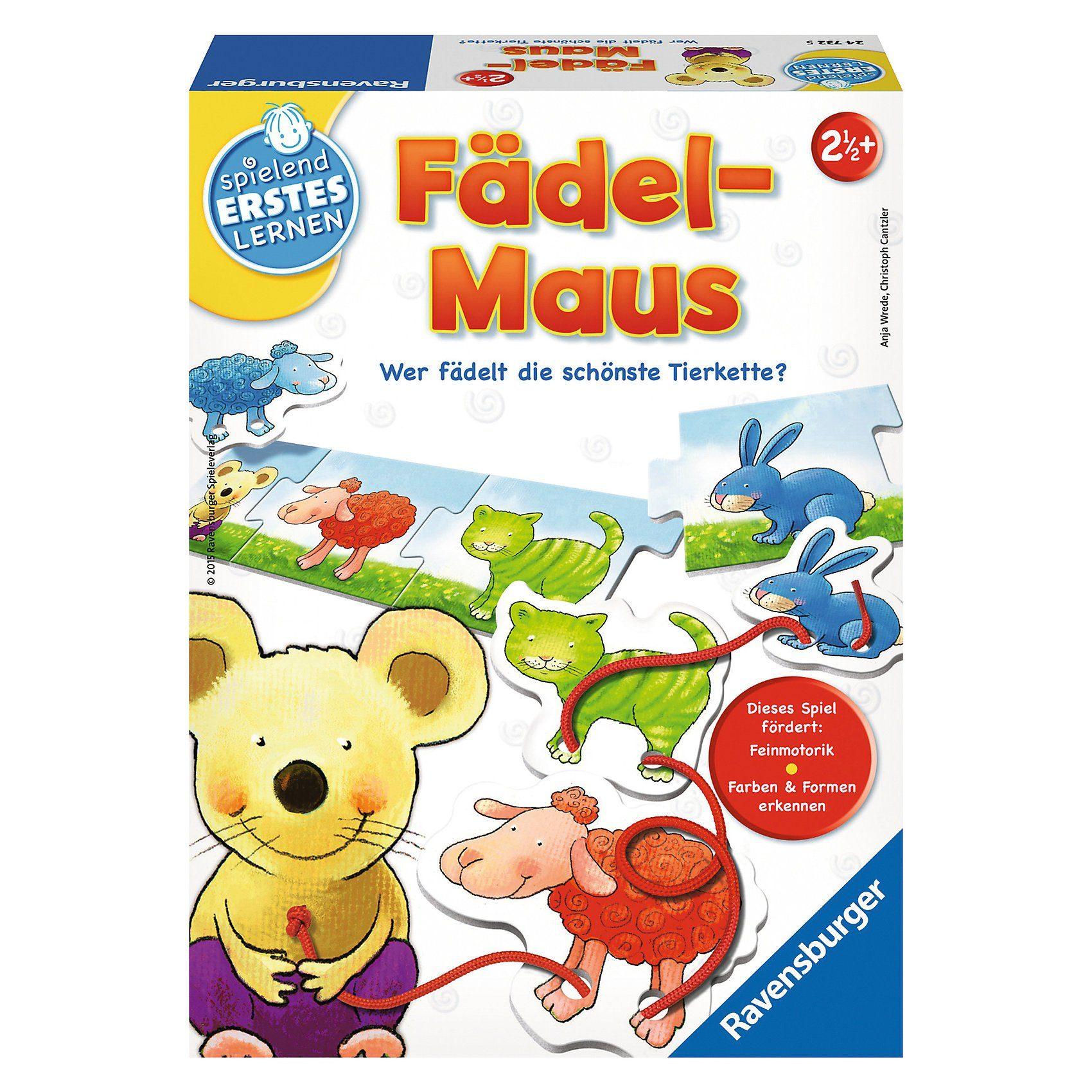 Ravensburger Spielen und Lernen Fädel-Maus