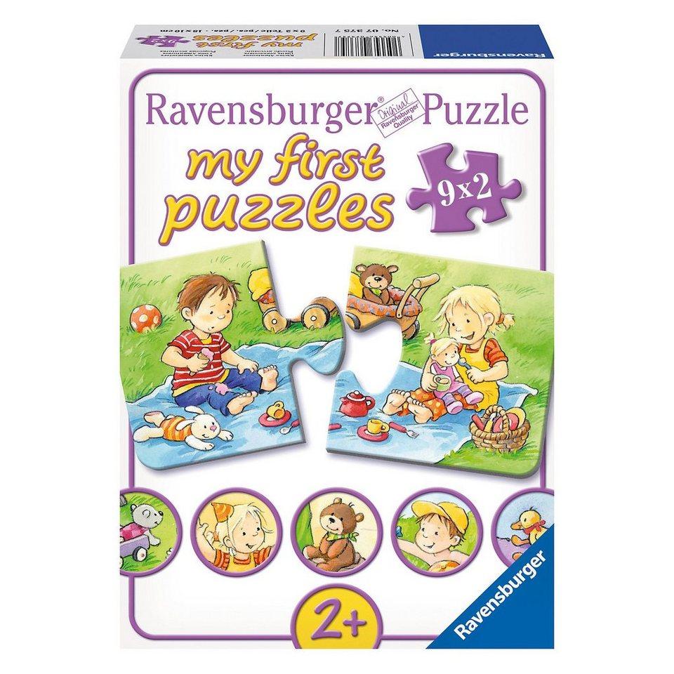 Ravensburger My first Puzzle Kleine Abenteurer