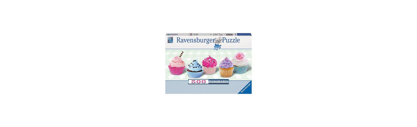 Ravensburger 500 Teile Panorama Zuckersüße Cupcakes - Panorama
