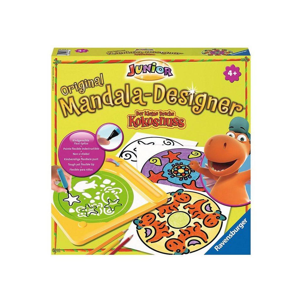Ravensburger Mandala Designer® Junior Drache Kokosnuss