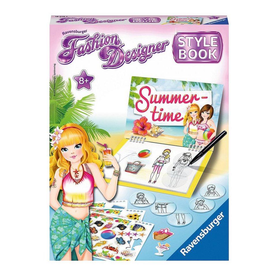 Ravensburger Fashion Designer Stylebook Summer Time