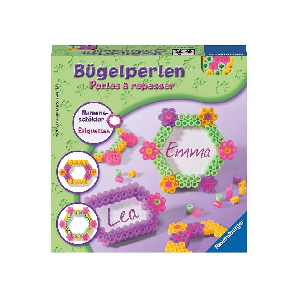 Ravensburger Bügelperlen Namensschilder
