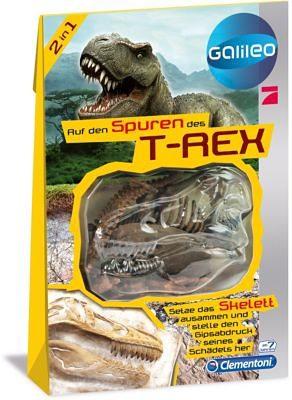 Clementoni Galileo - Dinosaurier Skelett Bastelset - T-Rex