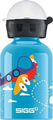 SIGG Alu-Trinkflasche Planes, 300 ml in blau