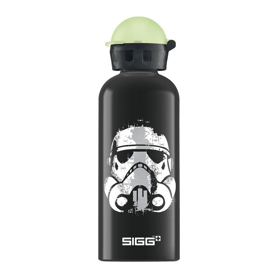 SIGG Alu-Trinkflasche Star Wars Rebel, 600 ml in schwarz