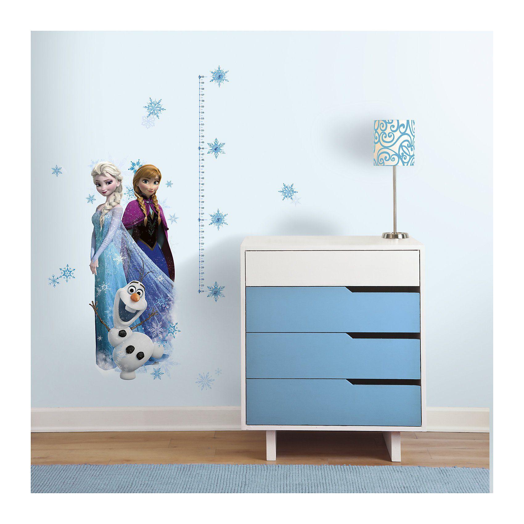 RoomMates Wandsticker Messlatte, Die Eiskönigin, Elsa, 20-tlg.