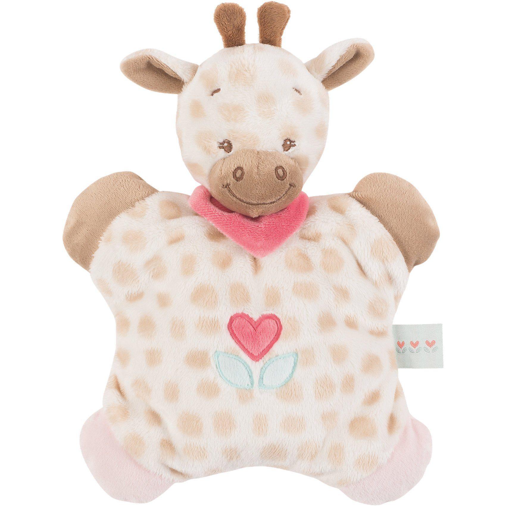 Nattou Flatsi Giraffe Charlotte, Charlotte & Rose, 24 cm