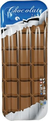 Royalbeach Luftmatratze in Schokoladen-Design