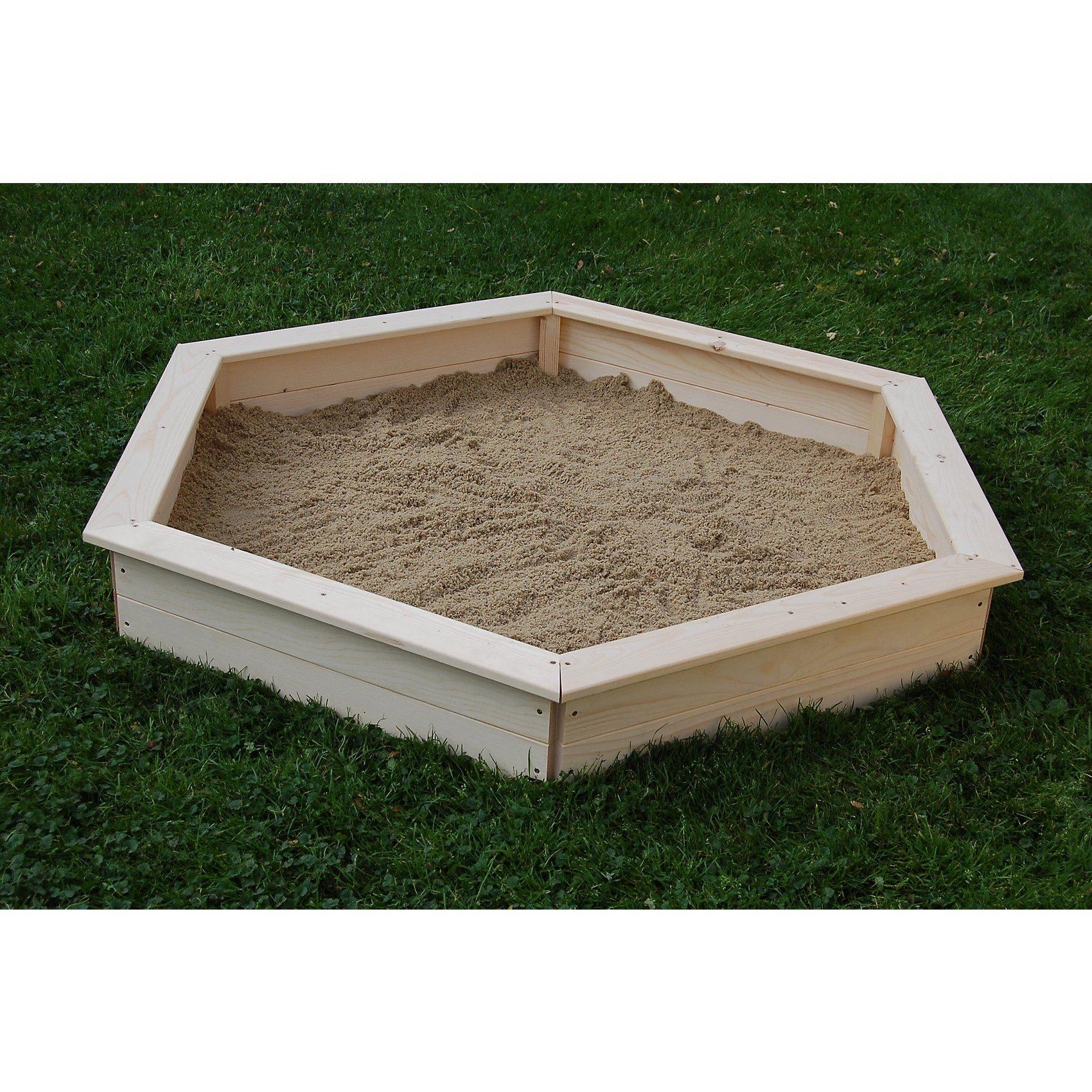 Sandkasten 6-eck