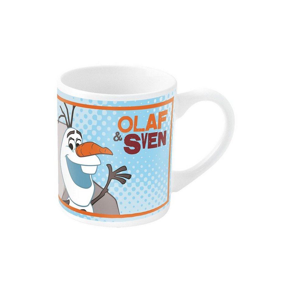 P:OS Tasse Keramik Die Eiskönigin Olaf, 200 ml in blau