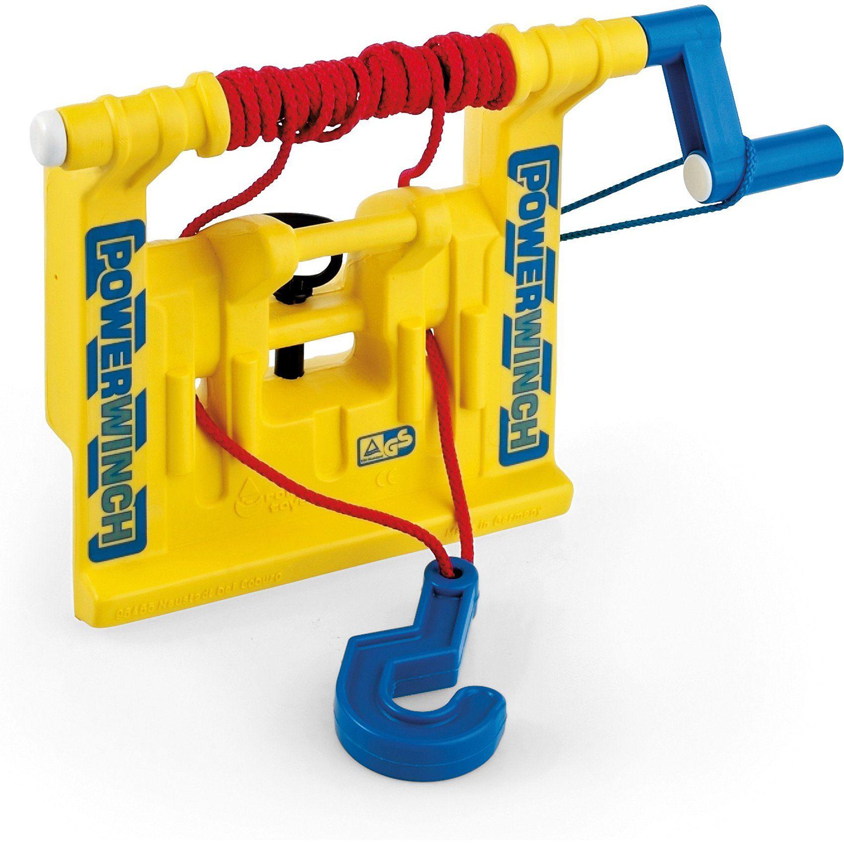 Rolly Toys Rolly Seilwinde, gelb