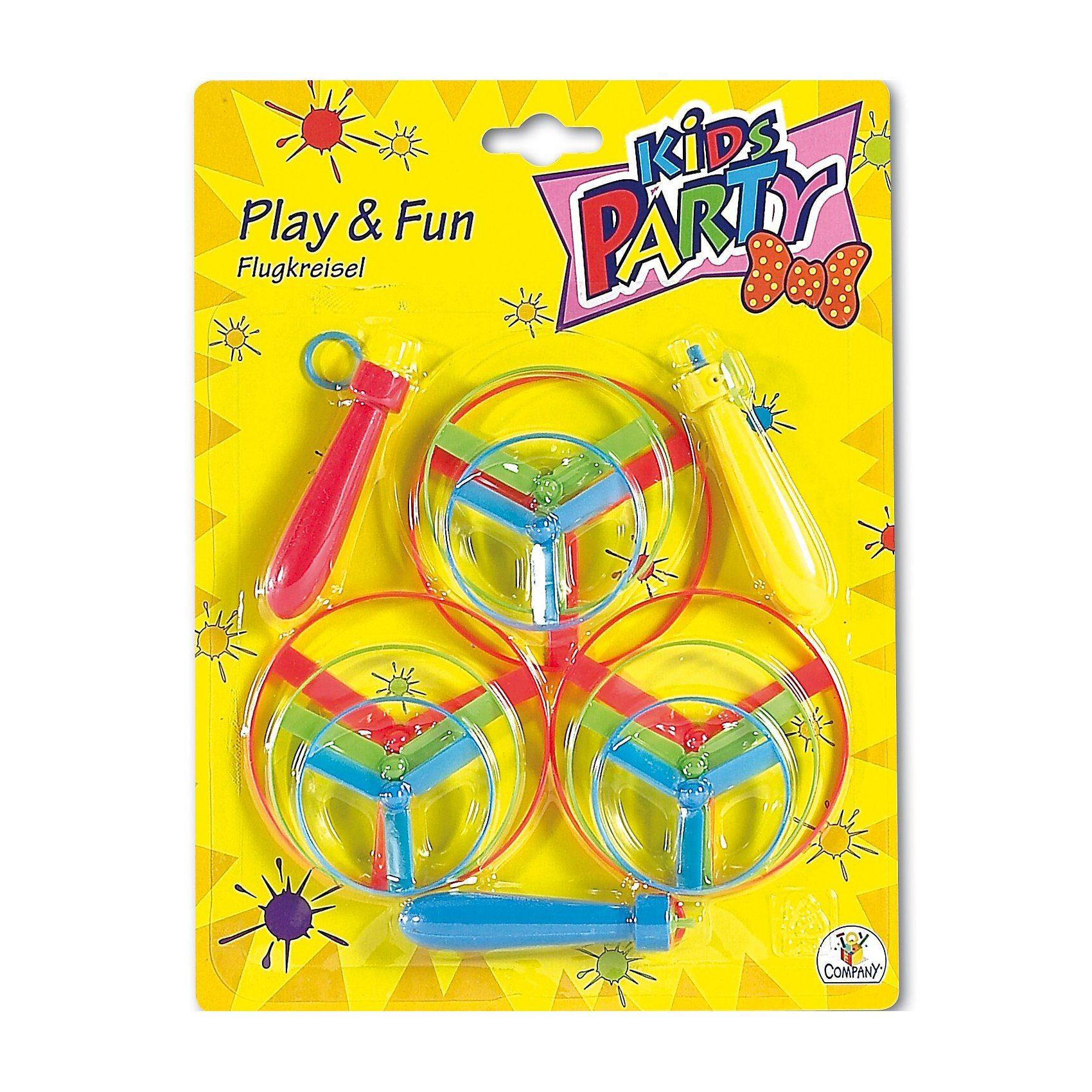 Party Fun Flugkreisel, 3 Stück