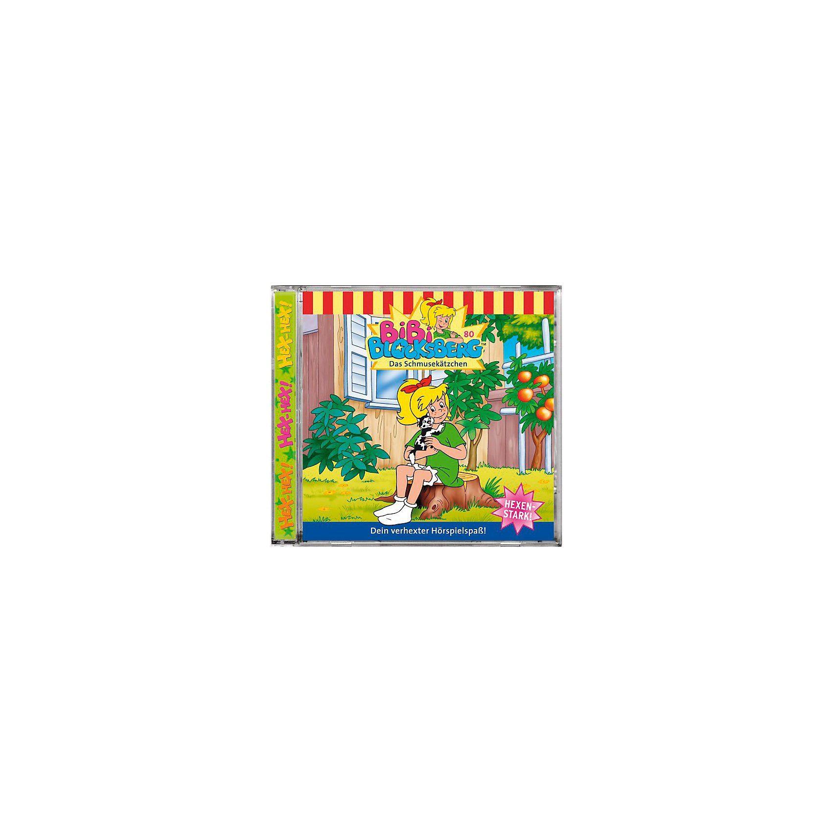 Kiddinx CD Bibi Blocksberg 80 (Schmusekätzchen)
