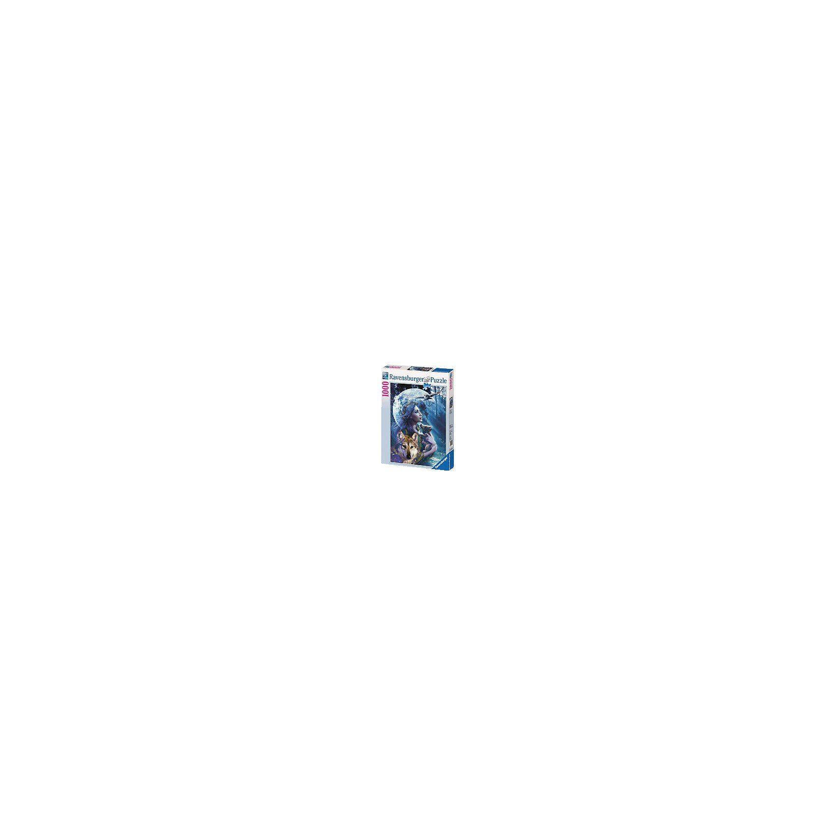 Ravensburger Puzzle-1000 Teile- Wolfsfrau