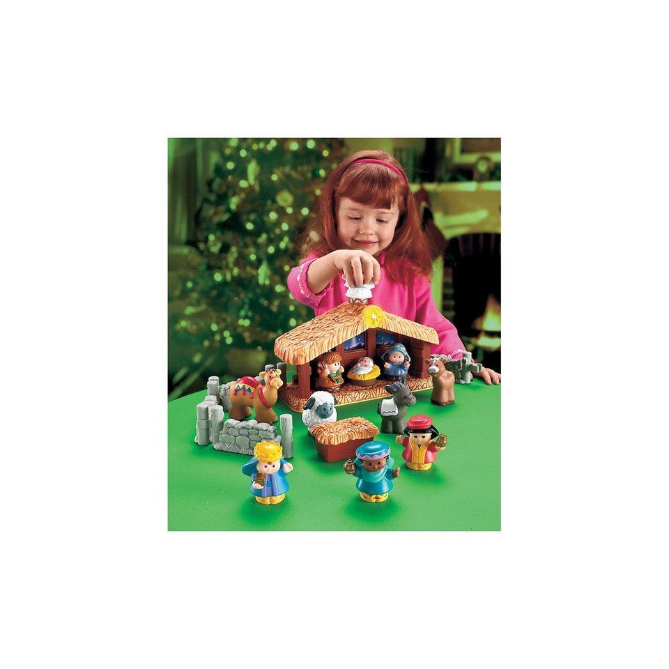 Mattel Little People - Krippe